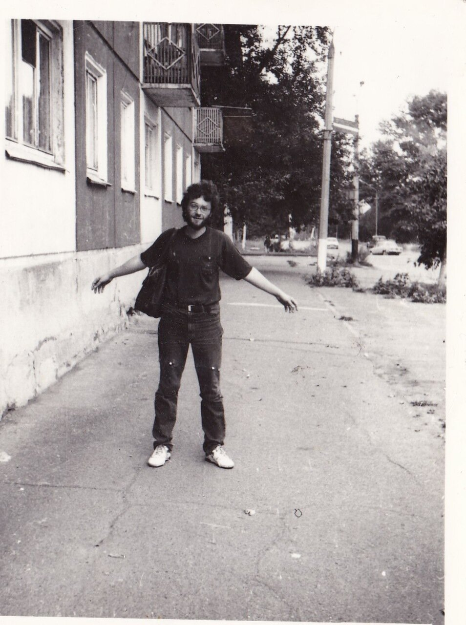 1988-1989. Перед одним из фестивалей в Усолье-Сибирском
