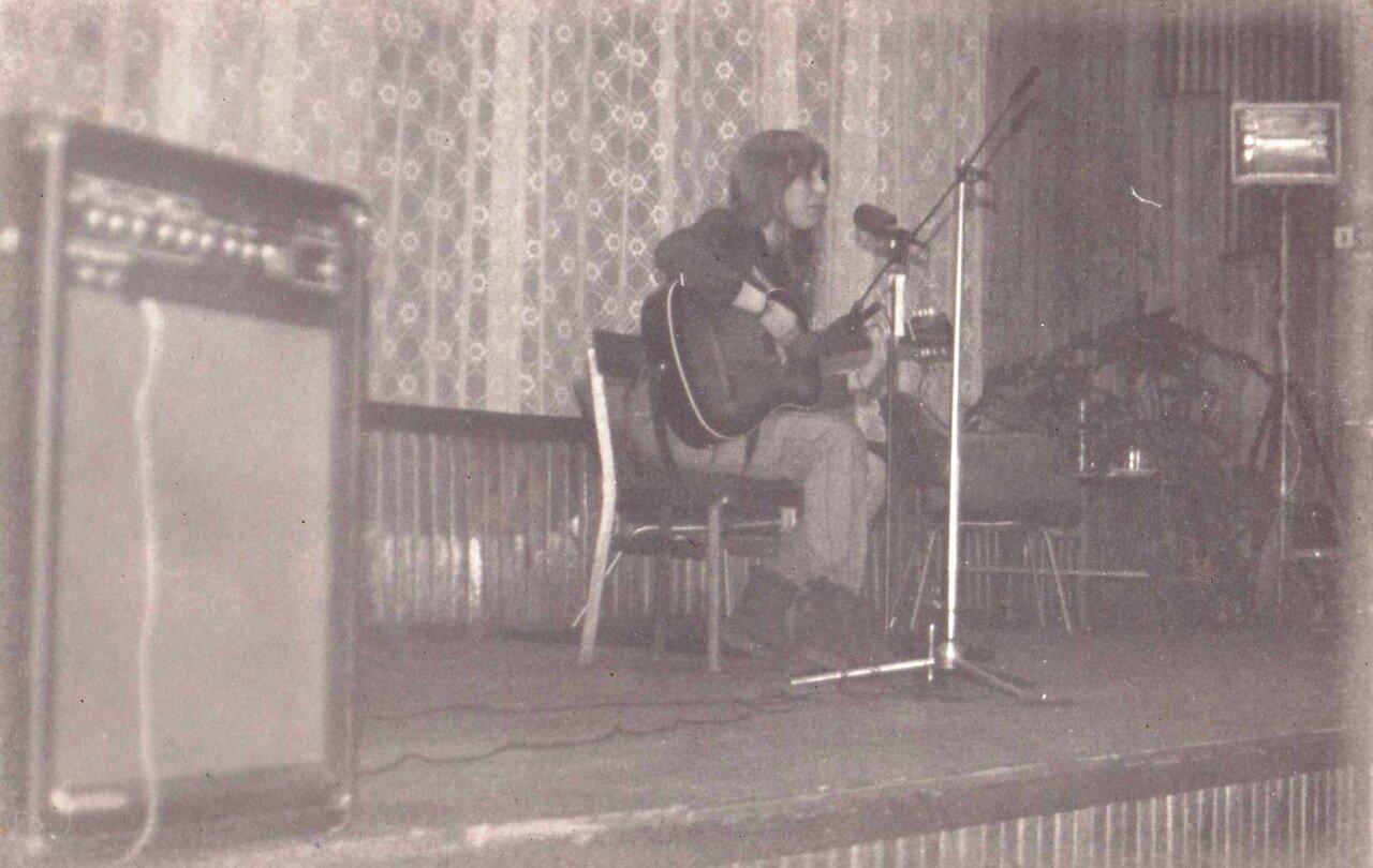 1991. Концерт в Ангарске в ДК Строитель