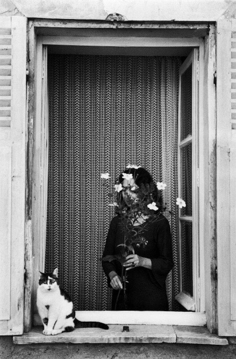 1978. Перед окном, Париж