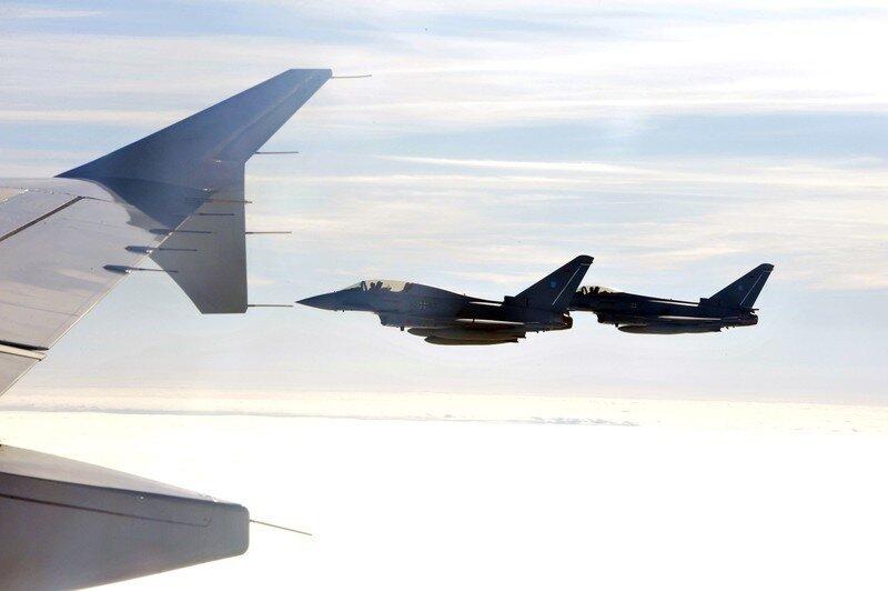 Оффтоп из Европы Fighterjets of the German airforce Luftw