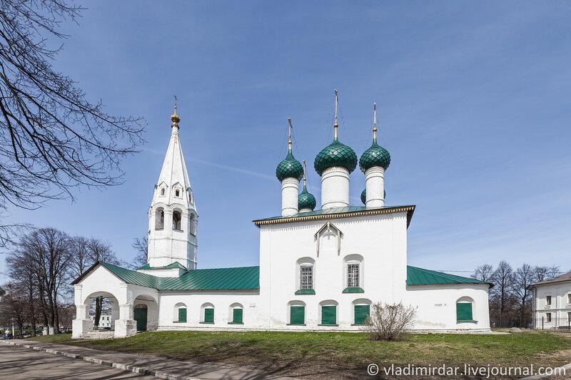 Церковь Николы Рубленого. Ярославль. Золотое Кольцо.
