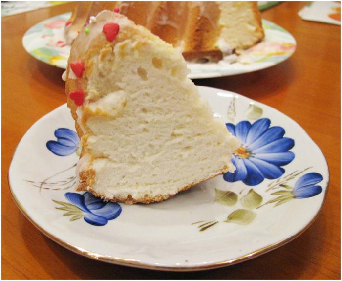 Ангельский кекс