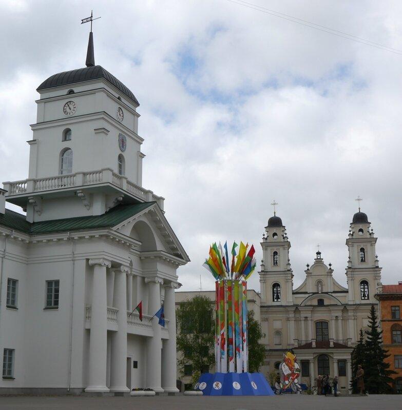 Минск, Ратушная площадь