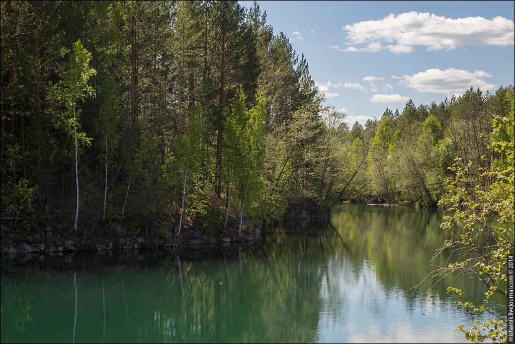 Флюсовый рудник Верхне-Синячихинского и Алапаевского металлургических заводов