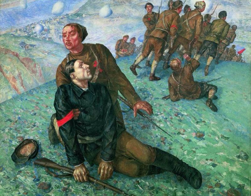 как русские немцев били, потери немцев на Восточном фронте, комиссары в Красной Армии
