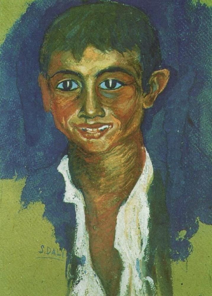 Портрет Цыгына, 1919г. Дали Сальвадор