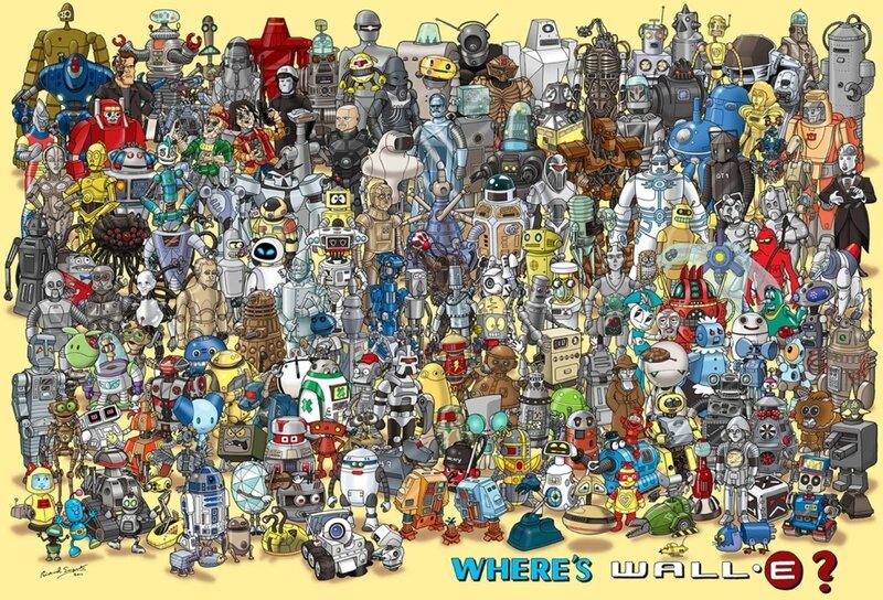Все роботы мира в одной картинке!