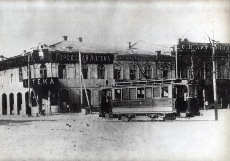 1910s tramcar in tsaritsyn