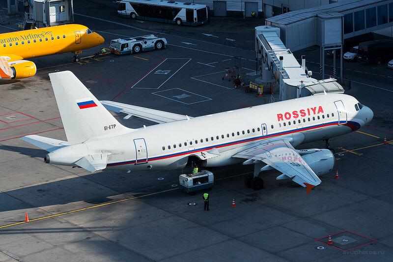 Airbus A319-111 (EI-ETP) Россия D804652