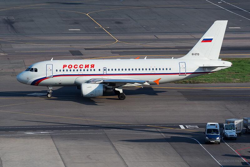 Airbus A319-111 (EI-ETO) Россия D804653