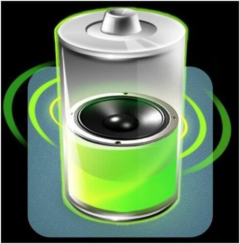 """Логотип приложения """"Говорящая батарея"""""""