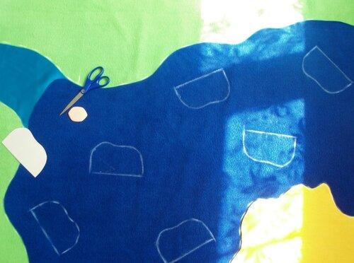 Детский развивающий коврик... инструкции по шитью моря