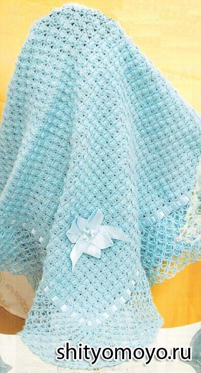 Вязание для детей: голубой