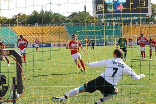 Краснодар - Спартак 2:4 25-09-2011