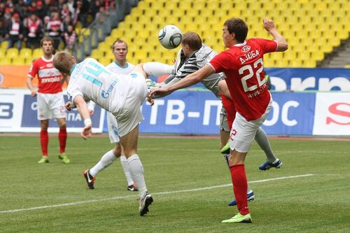 Спартак - Зенит 2-2 02-10-2011