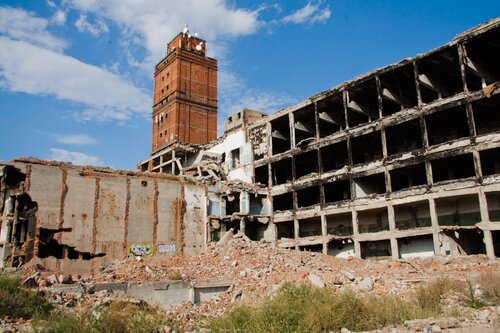 Заброшенный мясокомбинат, Саратовская область