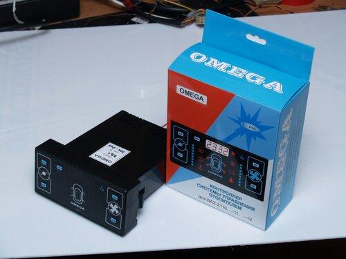 Электронный блок климат-контроля ВАЗ 2110-11-12 Омега - Нужные схемы и описания для Вас.