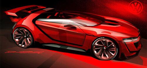 Volkswagen создал мега-сильный суперкар