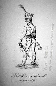 конная артиллерия 1792-1803