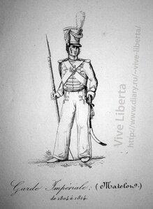 матрос императорской гвардии 1804-1814