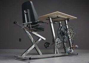 Необычный стол с педалями