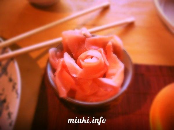 Маринованный имбирь (рецепты)