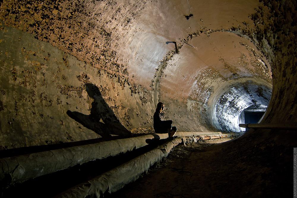Воздухоподводящий тоннель