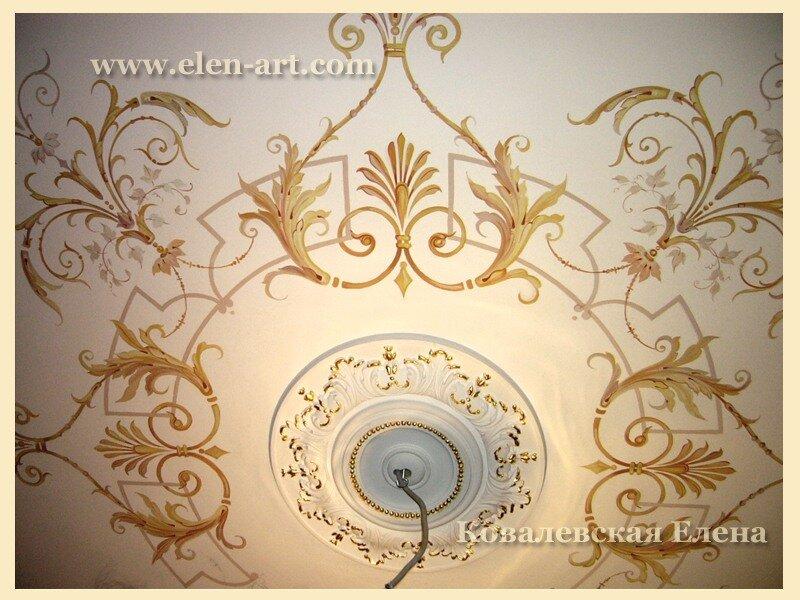 альфрейная роспись