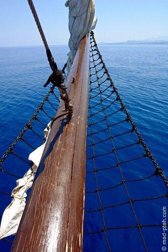 греция, крит, пиратский корабль