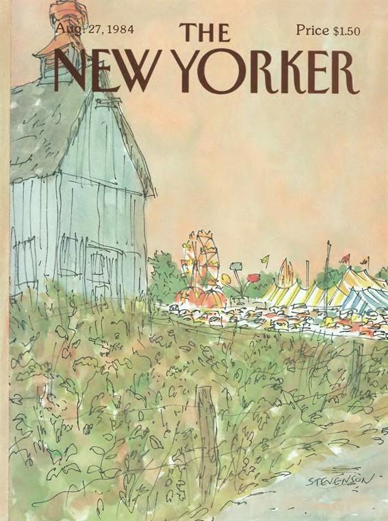 Жизнь Нью-Йорка в обложках журнала `The New Yorker`. 40 каверов