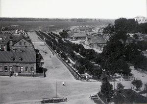 Вид жилых домов на Новом бульваре.
