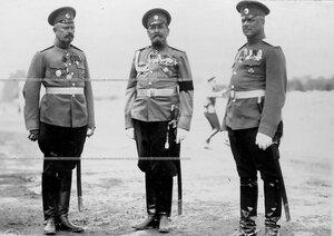 Группа офицеров  3-го стрелкового полка .
