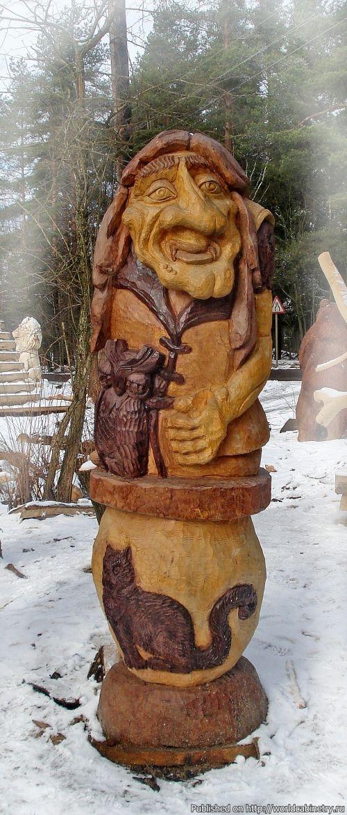 Деревянные скульптуры своими руками фото 78