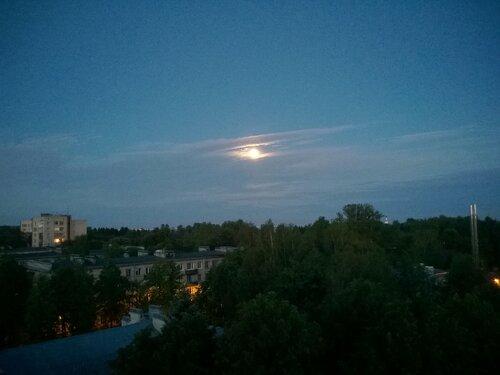 белая ночь, полнолуние