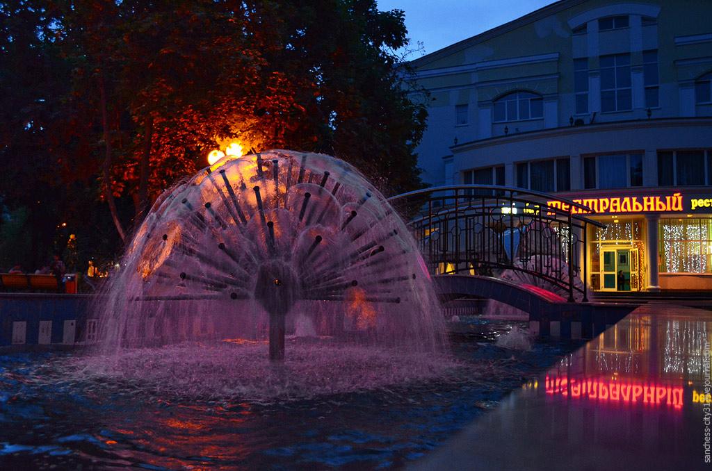 фонтан в Театральном сквере, Белгород, фото Sanchess