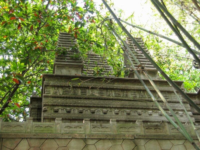 Копия пагоды, Сад пагод, Люхэта, пагода Шести гармоний, Ханчжоу