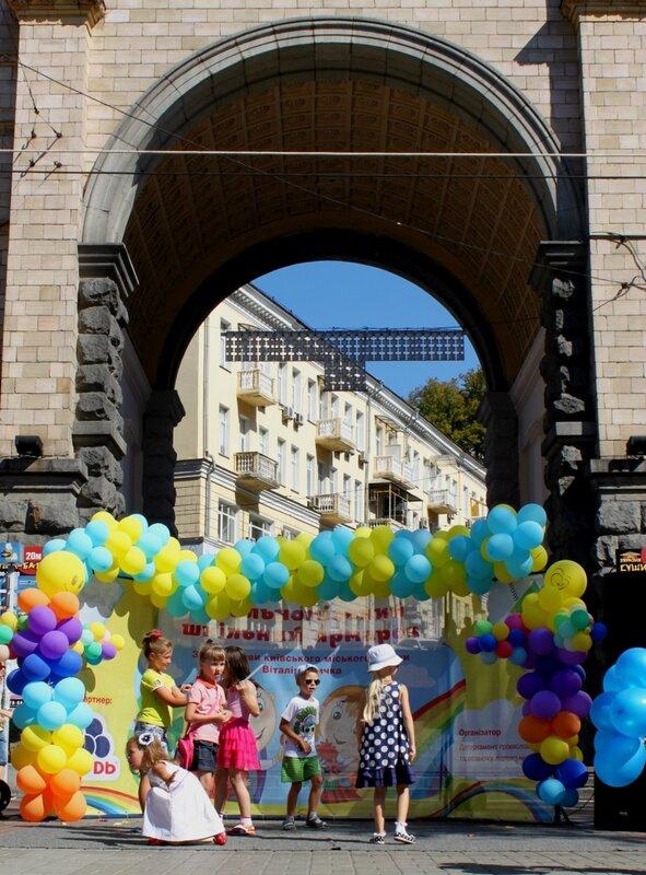 сцена фестиваль крещатик