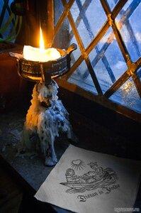 Тристан и Изольда (кафе, свеча)