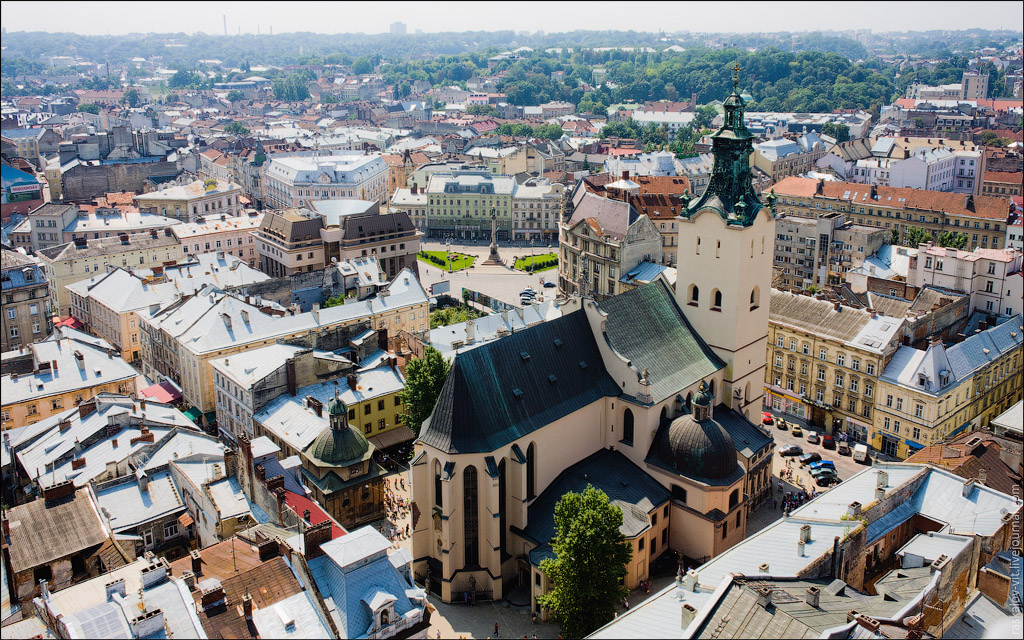 (旅游天地)古老而美丽的乌克兰利沃夫 - 清风细雨 - 清风细雨