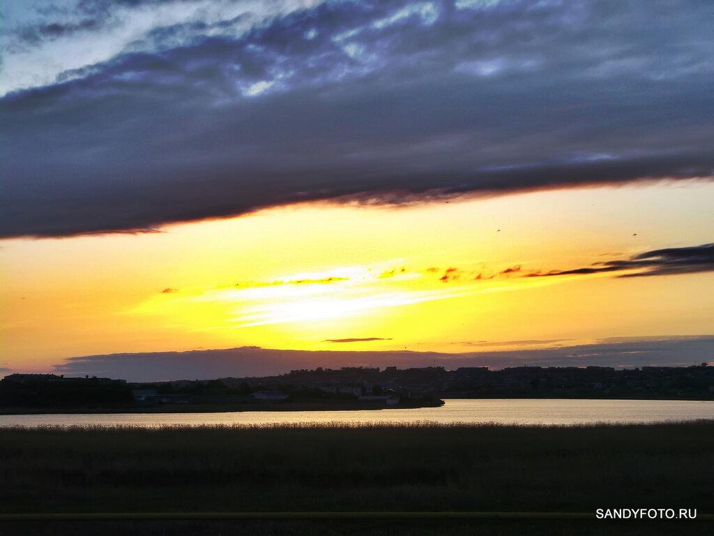 Ещё один закат в солнечном Троицке