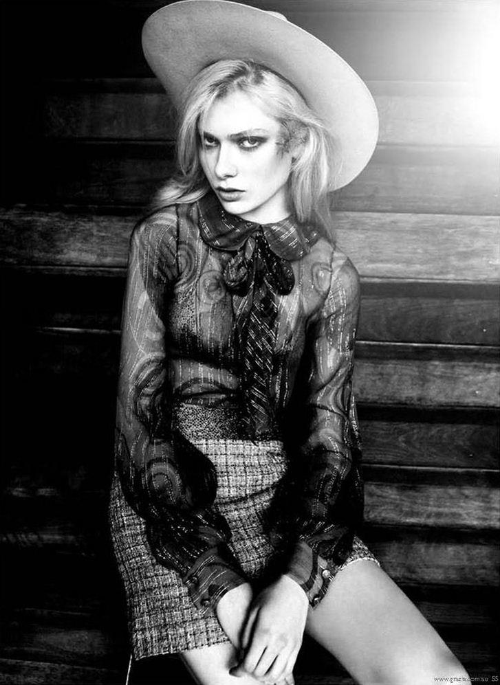 модель Натали Хокей / Natalie Hockey, фотограф Harold David
