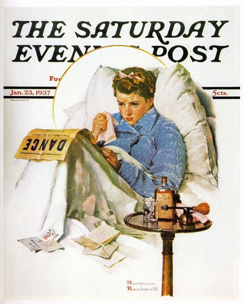 by Norman Rockwell