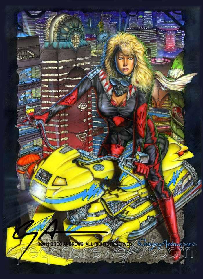 Желтый скутер - Greg Andrews