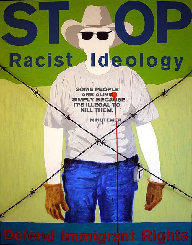 Стоп расистской идеологии (Juan Fuentes)