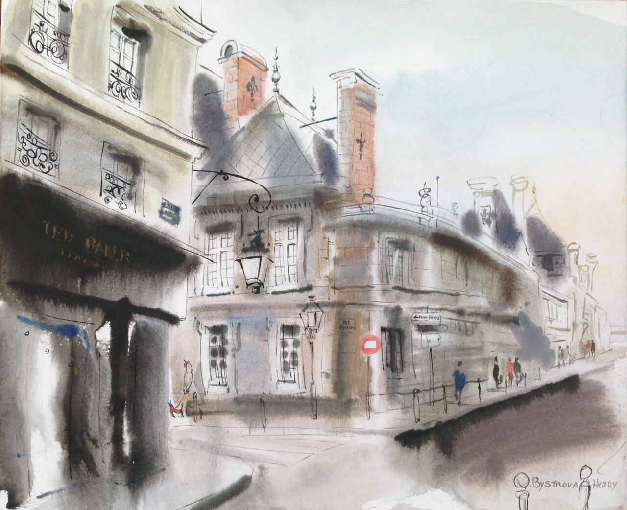 Paris. Rue Des FRANCS BOURGEOIS
