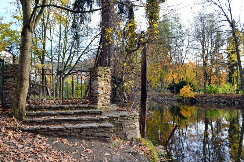 Осенняя Влтава