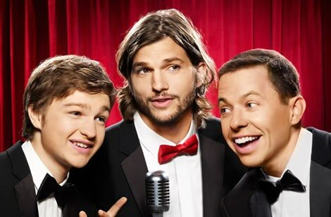 Рекордный старт Two and A Half Men без Чарли Шина