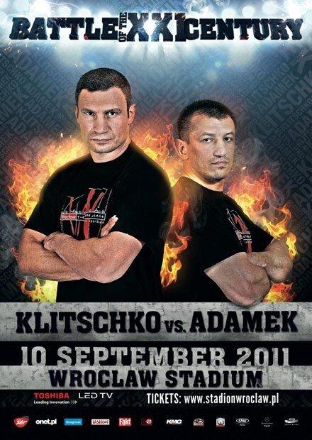 Бой за титул чемпиона мира. Виталий Кличко vs Томаш Адамек (2011/SATRip)