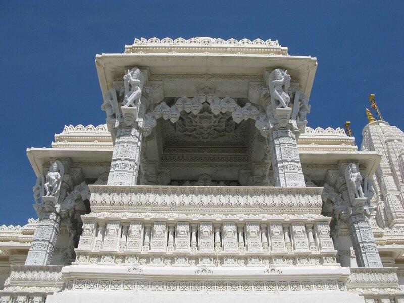Канада, Торонто, храм Шри Сваминараян Мандир, красивые храмы, Канада храмы, индуистские храмы, Торонто...