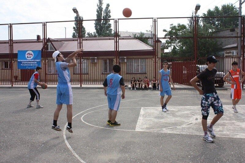 стритбол, баскетбол, махачкала, дагестан, дагестанцы. Фото: Гамид Гитинов